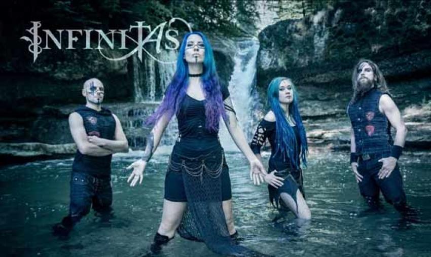 INFINITAS stellen neue Sängerin vor
