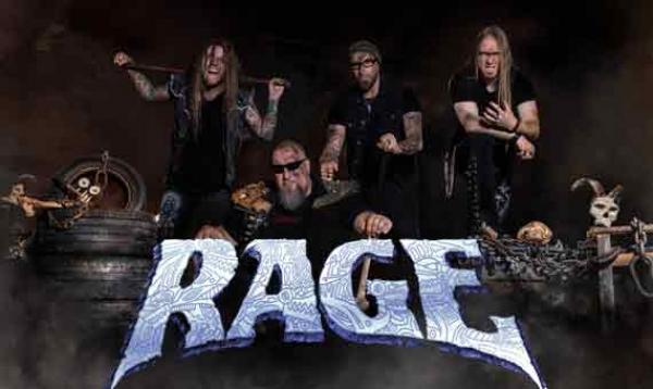 RAGE - Statt auf der Bühne, sich auf dem Album austoben