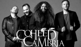 COHEED AND CAMBRIA kehren mit neuer Single «Shoulders» zurück